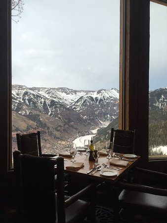 Mountain Village, CO: Tough to beat the wine list, view and food in telluride...