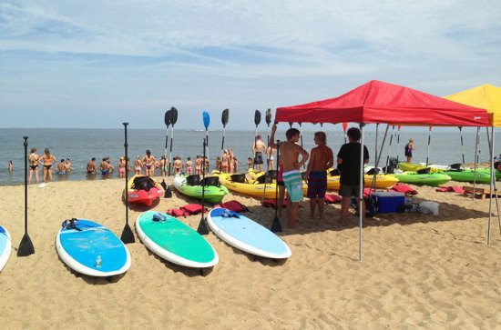 Lecciones de surf en Virginia Beach