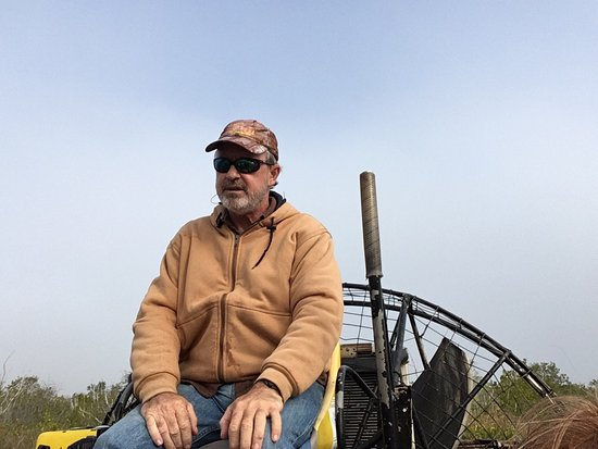 Speedy's Airboat Tours : Returning after a great trip with the great Captain Bill!
