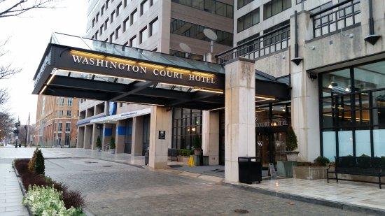 Washington Court Hotel on Capitol Hill: Fachada