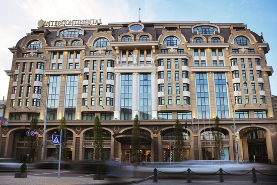 InterContinental Kiev Exterior