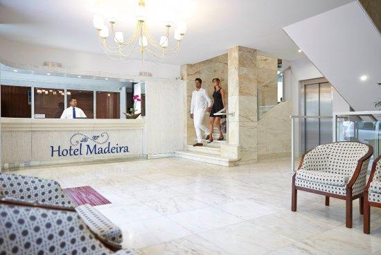 Hotel Madeira: Reception