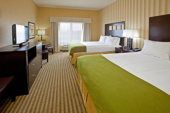 Holiday Inn Express Hotel & Suites Richwood-Cincinnati South: Queen Bed Guest Room