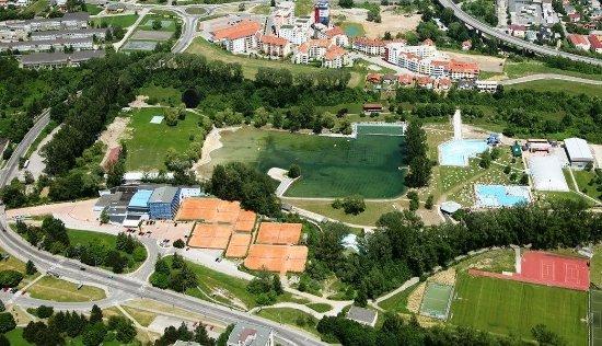 Région de Banska Bystrica, Slovaquie : Aerial view