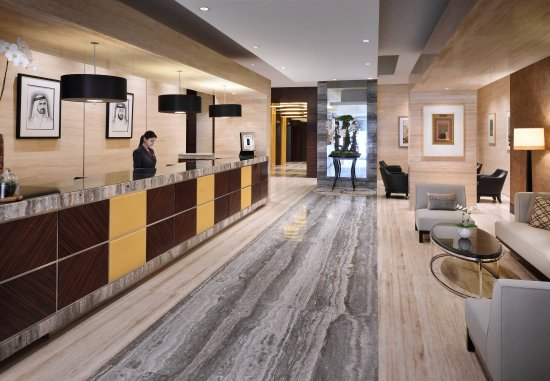 Dubai Marriott Harbour Hotel & Suites: Reception