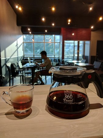 Klang, Malasia: Filtered Coffee