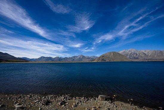 Ashburton, Nya Zeeland: Lake Heron
