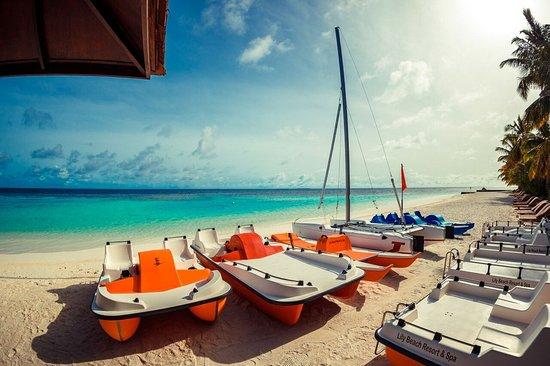 Lily Beach Resort & Spa: Stationery