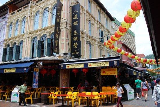 Chinatown Seafood Restaurant Area Singapore