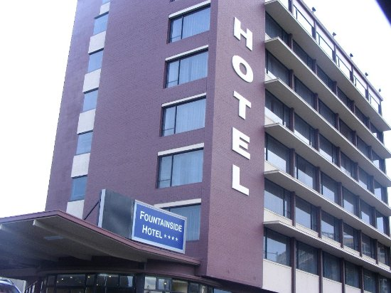 Fountainside Hotel: hotel building