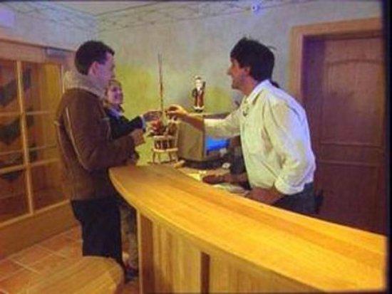 Gschnitz, Austria: Lobby
