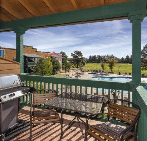 Overgaard, Аризона: Balcony