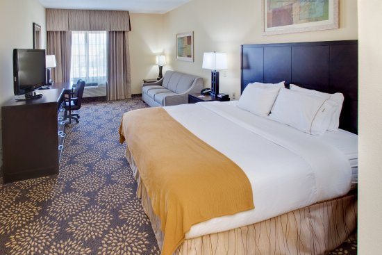 Holiday Inn Express Hotel & Suites Grand Island: King Bed Guest Room