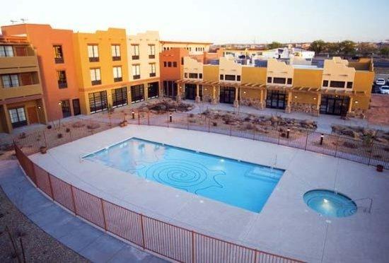 Tuba City, AZ: Pool view