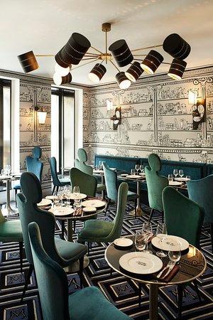 Argentière, Frankrig: Restaurant Gauche Caviar
