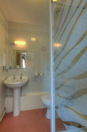 Kirby Muxloe, UK: Room Single bathroom