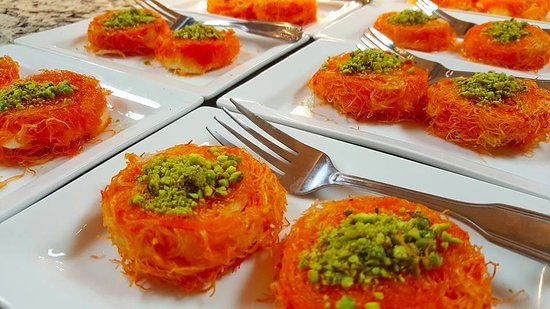 Alpharetta, Τζόρτζια: Kunafa, a Middle Eastern delicacy not to be missed!