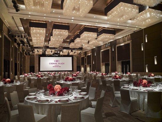Huizhou, China: Ballroom Banquet set up