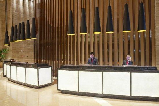 Huizhou, China: Front Desk