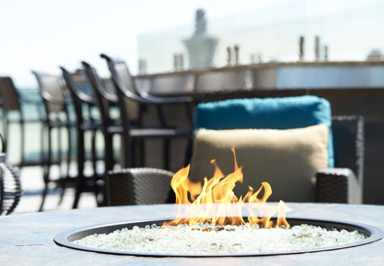 Residence Inn by Marriott Cincinnati Downtown/The Phelps: Top of the Park Upper Level Fire Pit