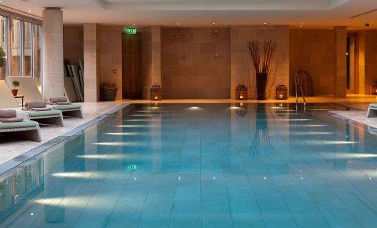 Indoor Lap Pool - Picture of Lime Wood Hotel, Lyndhurst - TripAdvisor