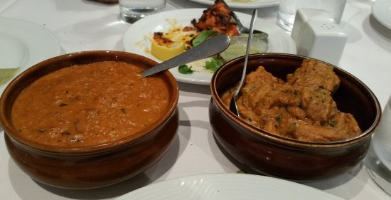 Scarborough, Australia: Mains - Dhaba Chicken n Nawabi kofta