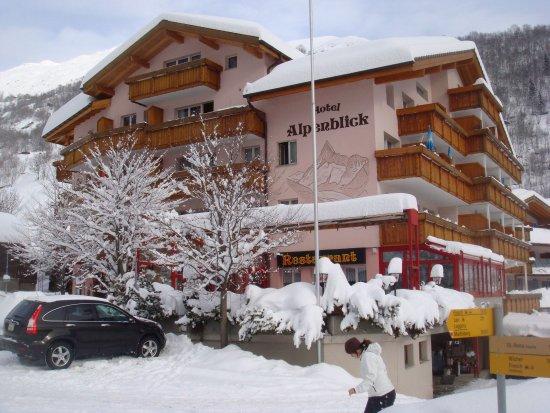 Fieschertal, Szwajcaria: Winter in the pure alps