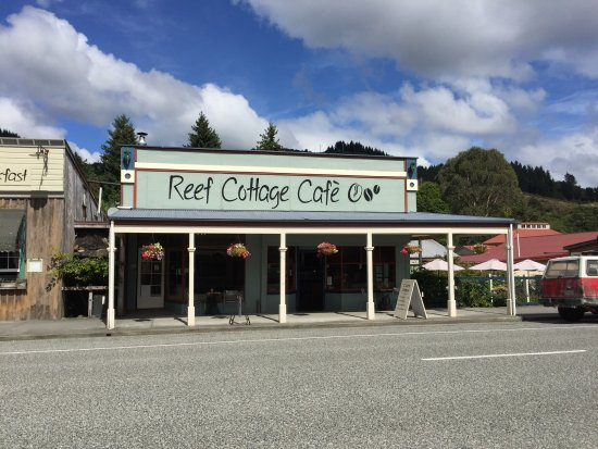 Reefton, Nieuw-Zeeland: Cafe Front