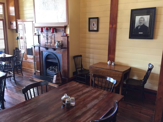 Reefton, New Zealand: Inside dining