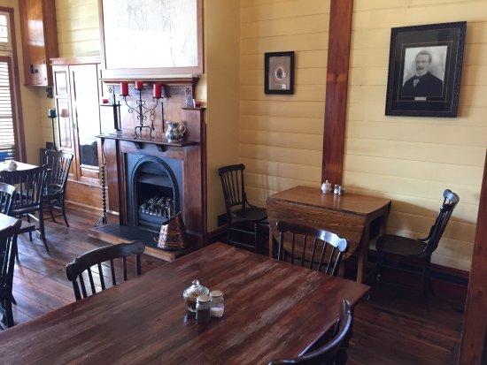 Reefton, Nieuw-Zeeland: Inside dining