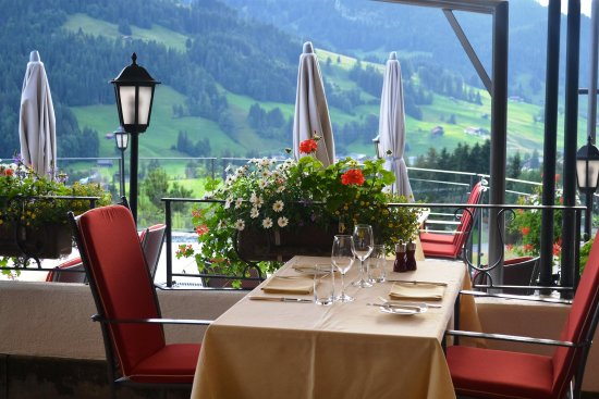 Hotel Le Grand Chalet : Outlook