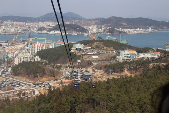 Tongyeong, Corea del Sur: 통영 케이블카