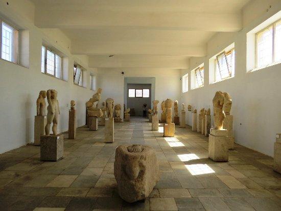 Archaeological Museum of Delos : こじんまりした 博物館