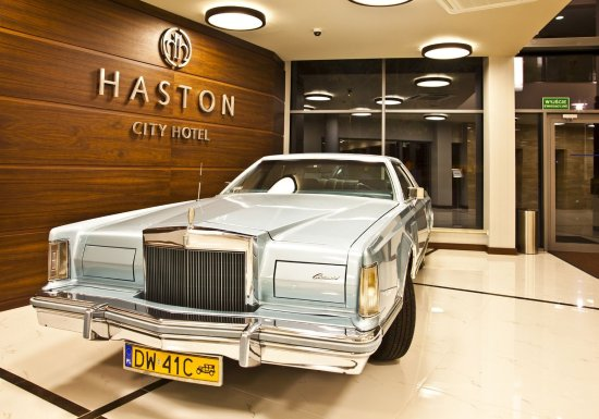 Haston City Hotel : Lobby