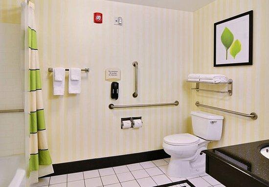 Huntingdon, Pensylwania: Suite Bathroom