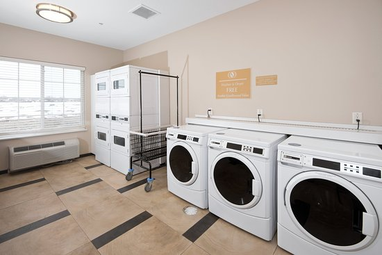 Candlewood Suties Greeley offers 24 hour laundry