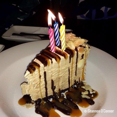 The Keg Steakhouse Bar Garry Street Billy Miner Ice Cream Pie Served As