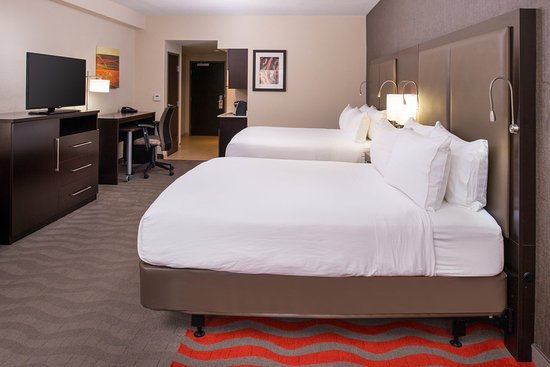 Monroe, Carolina del Norte: 2 Queen Beds Accessible Room