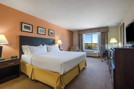 Lafayette, IN: Rest well in a comfortable king size bed.