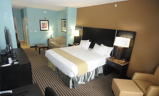 Holiday Inn Express Somerset : King Suite