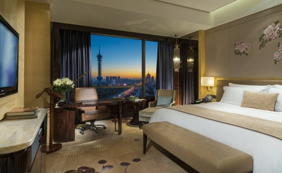 Shijiazhuang, Cina: King Deluxe Park View Room