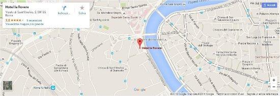 Hotel La Rovere : Map
