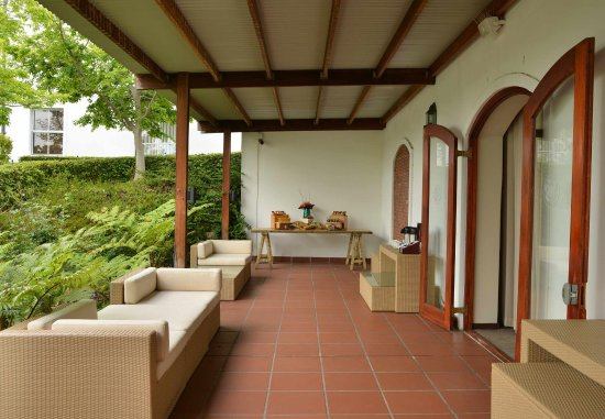Durbanville, South Africa: Conference Centre -Terrace
