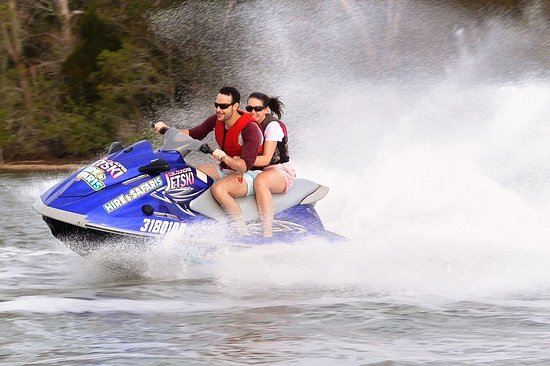 ‪Bribie's Moreton Bay Jetski Hire and Ride‬