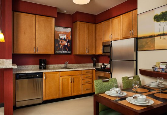 Our Suite at Residence Inn by Marriott Dallas DFW Airport South/Irving features a full Kitchen.