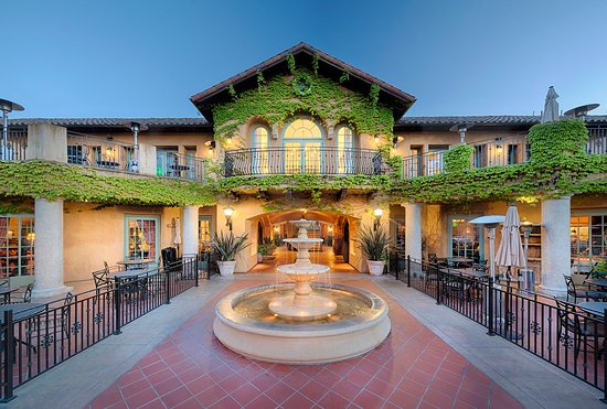 Лос-Гатос, Калифорния: Hotel Front
