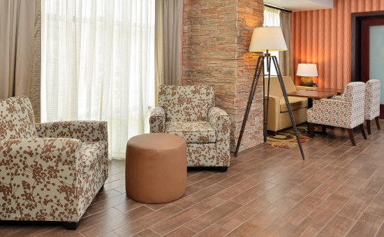 Ottumwa, IA: Hotel lobby