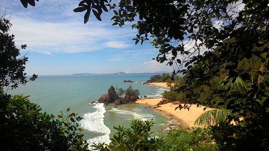 Club Med Cherating Beach: View along the jungle walk