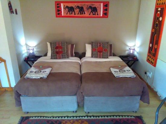 Sabie, Zuid-Afrika: Elna Falls Suite - Bedroom Area