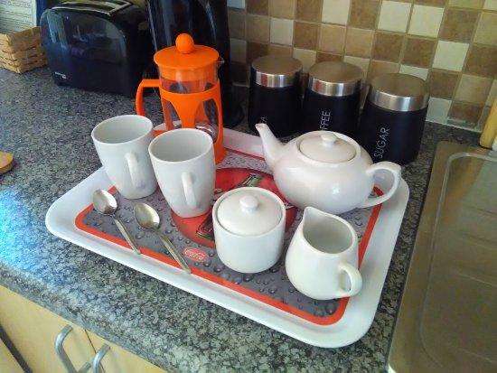 Sabie, Afrika Selatan: Elna Falls Suite - Kitchen Details